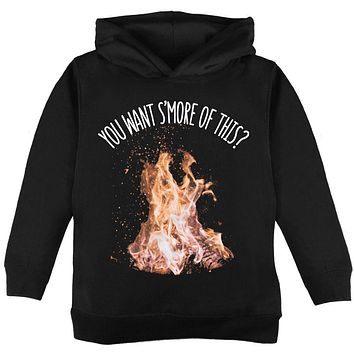 Autumn You Want S'more of This Bonfire Pun Toddler Hoodie