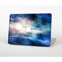 "The Blue & Gold Glowing Star-Wave Skin Set for the Apple MacBook Pro 15"" with Retina Display"