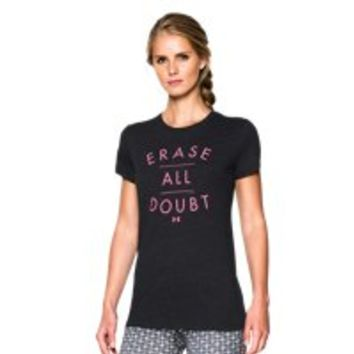 Under Armour Women's UA Erase All Doubt Tri-Blend T-Shirt