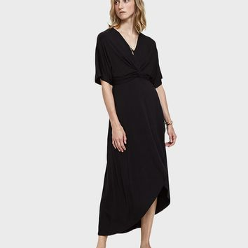 Farrow / Vivaan Tie-Front Jersey Dress
