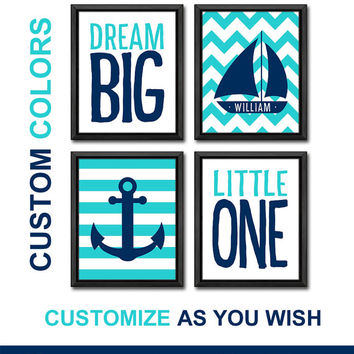 chevron sailboat nautical nursery art little sailor baby nursery decor baby gifts anchor baby boy nursery boys room boy nursery ideas
