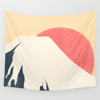 Dreams of Fuji Wall Tapestry by anipani