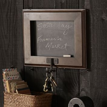 FRAMED CHALKBOARD WITH HOOK