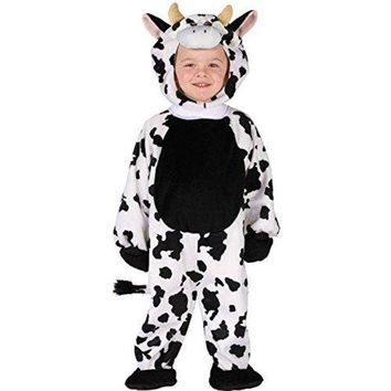 Toddler Cuddly Cow Costume Size 3T-4T