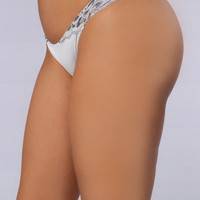 The Jodi Lace Tanga Panty