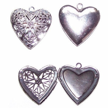 Scent Locket Trends for 2014 Antique Silver Tone Filigree Heart solid Perfume Locket pendant 735x