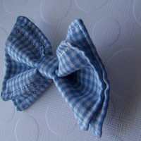 Blue Gingham Bow Tie, Doctor Who Baby, Bow Tie, Bow Ties Toddler, Newborn Bow Tie, Doctor Who, Bow Tie, Boys Bow Tie