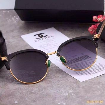 LMFON Original Chanel Retro Polarized Flash Lenses Sunglasses 5383 - 85