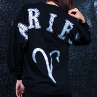 Aries - Astrology Collection - Light Weight Spirit Jersey® with Ribbed Hem