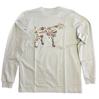 Southern Point - Signature L/S Tee Camo Logo Dog