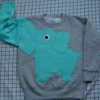 ONLYONE Elephant Trunk sleeve sweatshirt by CreativeCallipipper