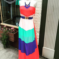 """""""Right Direction"""" Maxi Dress"""