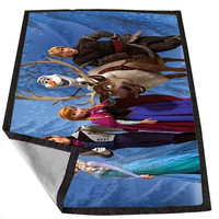disney frozen 03 ba461619-aebc-4d0b-92b6-878d4e4fa686 for Kids Blanket, Fleece Blanket Cute and Awesome Blanket for your bedding, Blanket fleece *02*
