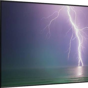 Lightning Storm over Ocean Photographic Print by Peter Wilson at Art.com