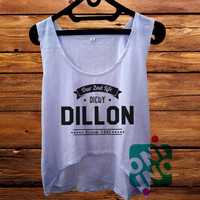 Our 2nd Life Ricky Dillon crop tank Women's Cropped Tank Top