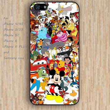 iPhone 5s 6 case collage Dream catcher colorful Cartoon characters phone case iphone case,ipod case,samsung galaxy case available plastic rubber case waterproof B445