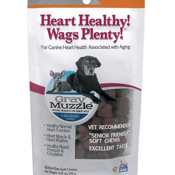 Ark Naturals Gray Muzzle Heart Healthy 60 Chews