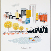 Richmond VA by albiedesigns on Etsy
