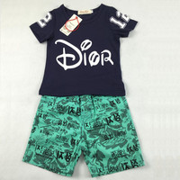 Summer boy clothes kids clothing sets boy t-shirt+pants suit clothing set toddler costume sport suits baby children boys clothes