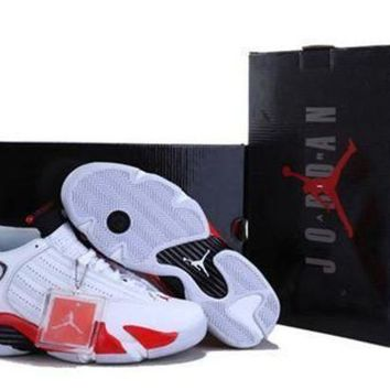 Cheap Air Jordan 14 Retro Men Shoes Candy Cane