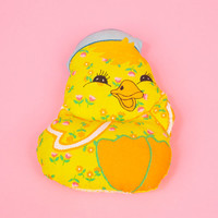 Adorable Vintage Baby Chick Pillow Nursery Easter Kitsch n' Cute
