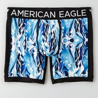 "AEO ABSTRACT PRINT 6"" FLEX TRUNK"