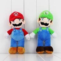 "10"" Super Mario and Luigi Plush"