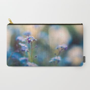 Myosotis Carry-All Pouch by Kristopher Winter