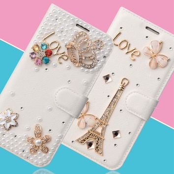 For Samsung J2 Prime Case 3D Diamond Wallet Case for Samsung Galaxy Grand Prime Cover Luxury Glitter Mermaid SM-G532F Case Cover