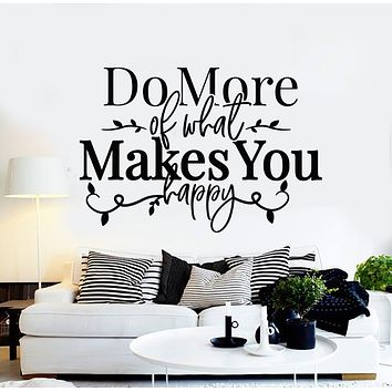Vinyl Wall Decal Inspiring Quote Words Home Room Decor Stickers Mural (g2723)