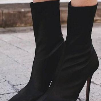 Pointed Toe Women Fashion Stiletto High Heels Shoes