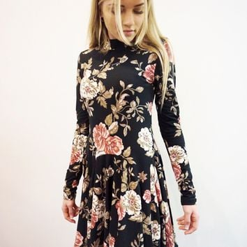 """Buffy"" Floral Dress"