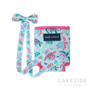 Turtle Friends Retainer & Koozie Set | Lakeside Cotton