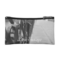 CosmeticBag: European Bridge and Love Lock Makeup Bags