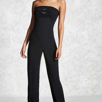 Contemporary Strapless Jumpsuit