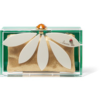 Charlotte Olympia - Pandora Loves Me Perspex clutch