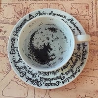 The Grim teacup Harry Potter inspired divination