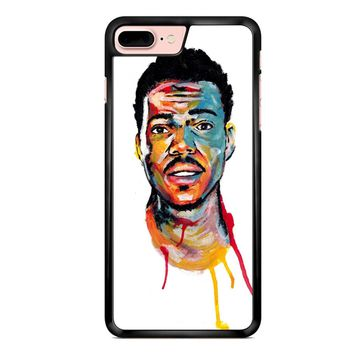 Acrylic Painting Of Chance The Rapper iPhone 7 Plus Case
