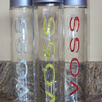 Crystallized with Swarovski Crystals Voss Water
