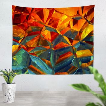 Triangle Trap Tapestry