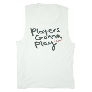 White Players Gonna Play Ladies Tank