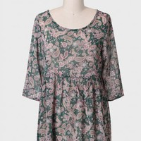 Earth Day Babydoll Tunic