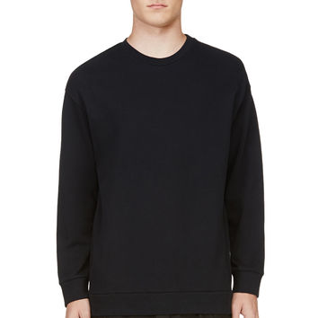 3.1 Phillip Lim Navy And Black Layered Sweatshirt