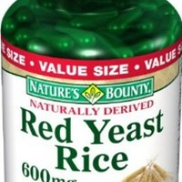 Nature's Bounty Red Yeast Rice 600mg / 180 Capsules