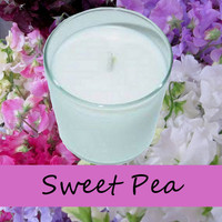 Sweet Pea Scented Candle in Tumbler 13 oz