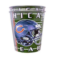 chicago bears 2 pk 16 oz metallic cups Case of 12