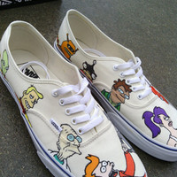 Futurama Custom Vans Shoes
