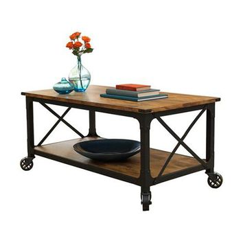 """Country Coffee Table and TV Stand (for TVs up to 42"""")"""