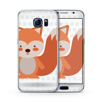 What does the Red Tailed Fox Say Skin for the Samsung Galaxy S-Line