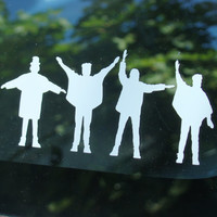 The Beatles Help Vinyl decal
